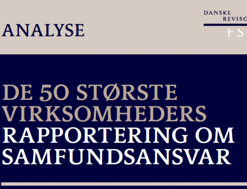Analysis of the 50 largest Danish companies' CSR reporting